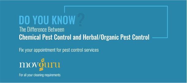 Difference between Chemical Pest Control and Herbal Organic Pest Control